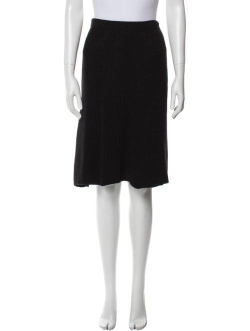 Beaufille Knee-Length Skirt w/ Tags Black - image 1