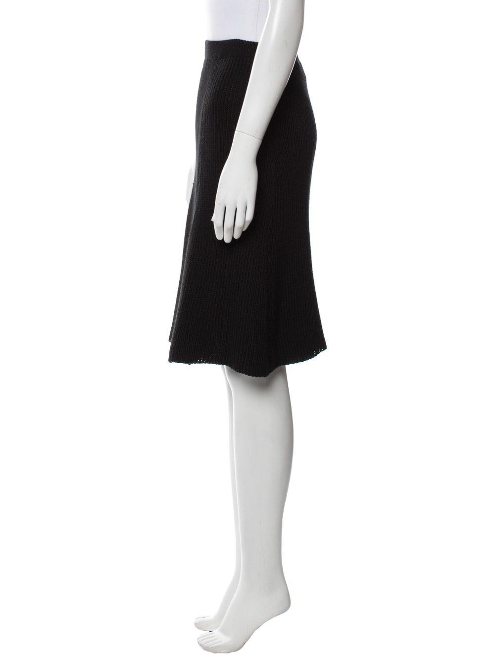 Beaufille Knee-Length Skirt w/ Tags Black - image 2
