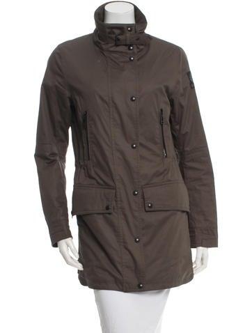 Mock Neck Utility Jacket