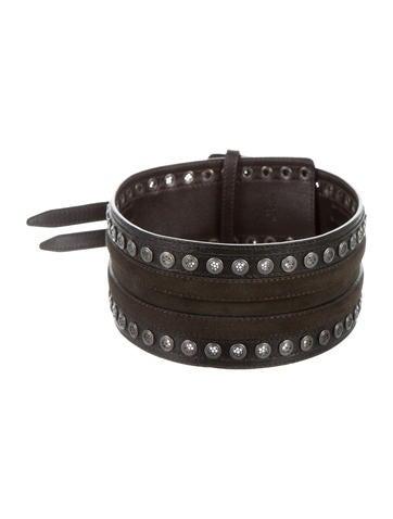 Belstaff Leather Waist Belt None