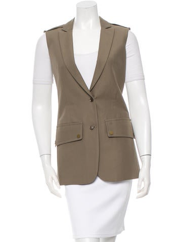 Belstaff Structured Button-Up Vest None