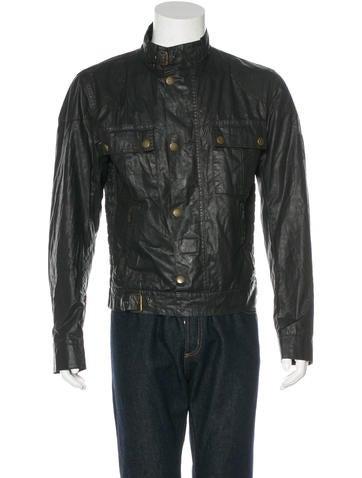 Belstaff Wax-Coated Utility Jacket None