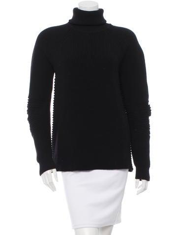 Belstaff Rib Knit Wool Sweater None