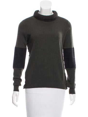 Belstaff Wool Turtleneck Sweater None