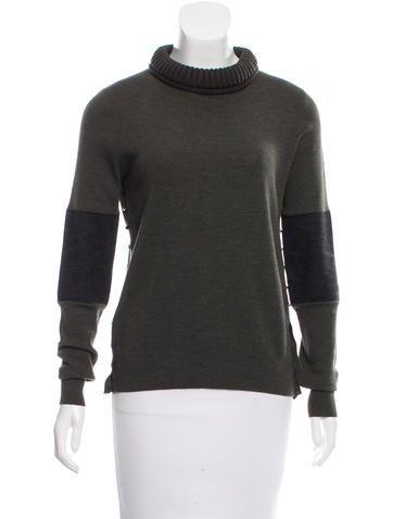 Belstaff Wool Turtleneck Sweater None