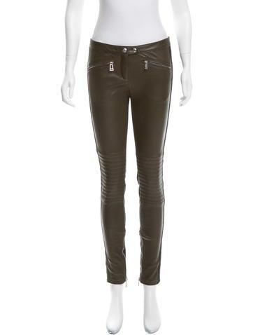 Belstaff Greenwich Leather Pants None