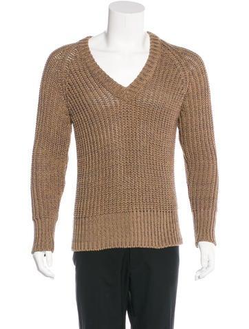 Belstaff Chunky Rib Knit Sweater None
