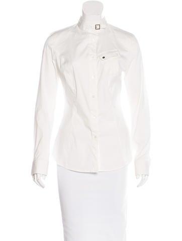 Belstaff Long Sleeve Button-Up Top None