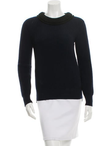 Belstaff Colorblock Wool Sweater w/ Tags None