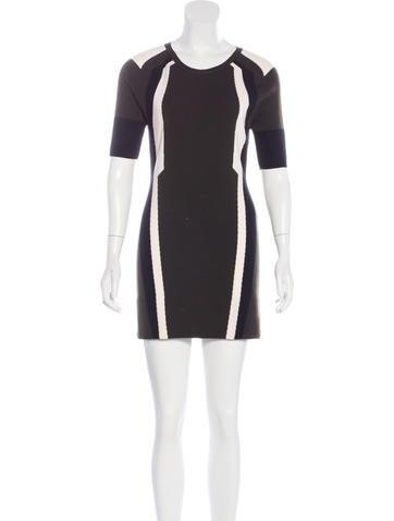 Belstaff New Wool Short Sleeve Dress None