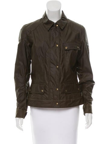 Belstaff Collared Utility Jacket None