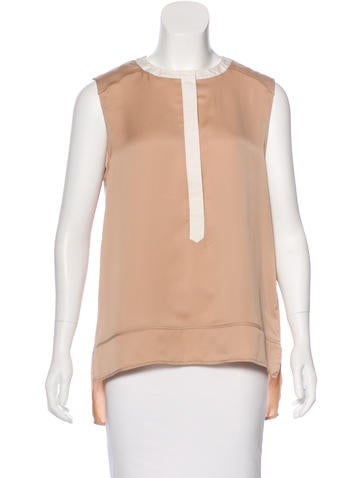 Belstaff Sleeveless Crew  Neck Top None