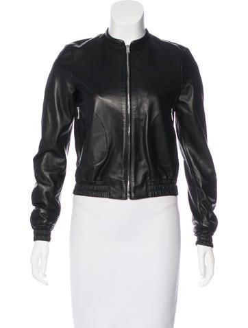 Belstaff Leather Biker Jacket w/ Tags None