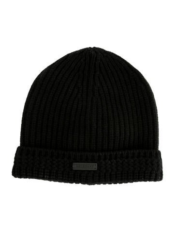 Belstaff Wool-Blend Rib Knit Beanie w/ Tags None