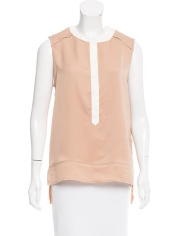 Belstaff Contrast Sleeveless Top None