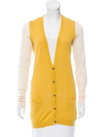 Belstaff Contrast Knit Cardigan None
