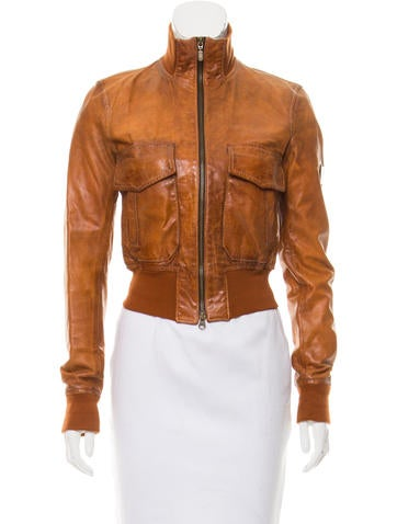 Belstaff Tailored Leather Jacket None
