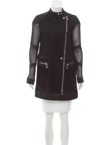 Belstaff Perforated Knit Jacket None