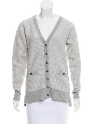 Belstaff Button-Up Wool Cardigan w/ Tags None