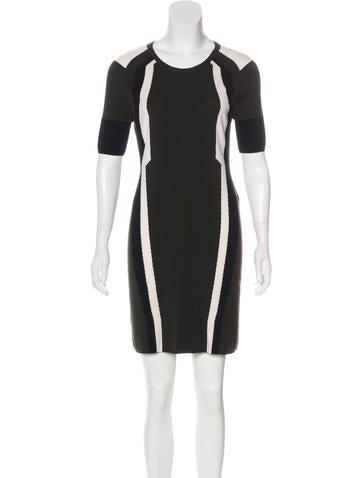 Belstaff Colorblock Intarsia Dress None