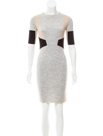 Belstaff Colorblock Sweater Dress None