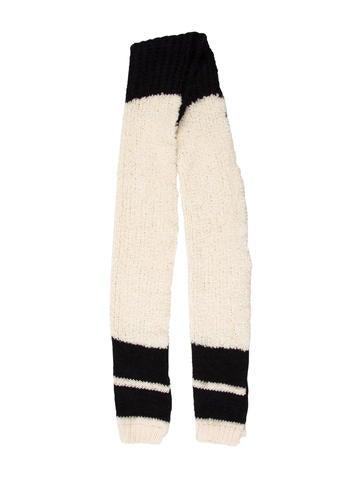 Belstaff Wool Knit Scarf None