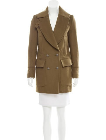 Belstaff Quilted Wool Coat None