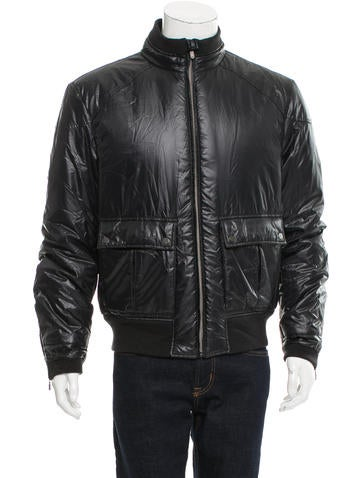 Belstaff Down Bomber Jacket None