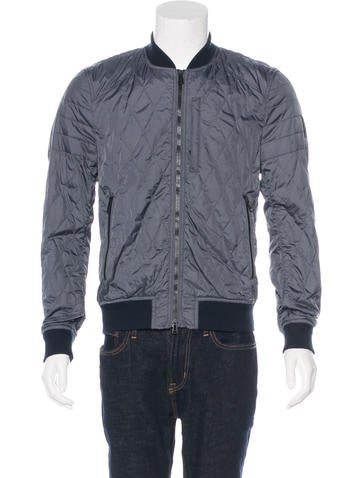 Belstaff Quilted Bomber Jacket None