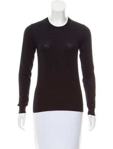 Belstaff Ribbed Crew Neck Sweater None