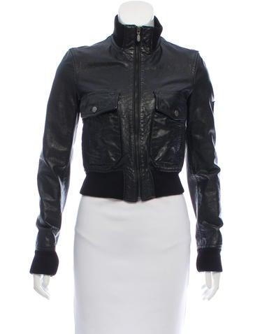 Belstaff Leather Zip-U Jacket None