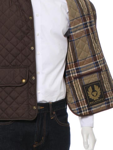 Quilted Button-Up Vest