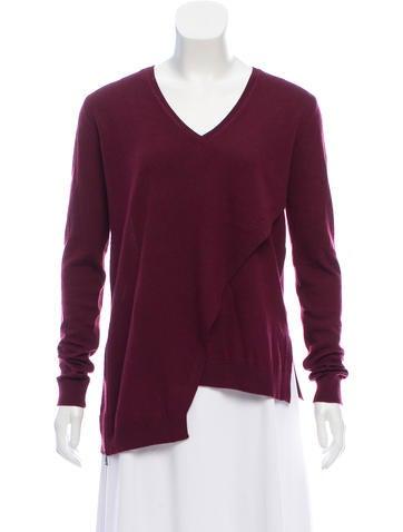 Belstaff Asymmetrical Wool Sweater None