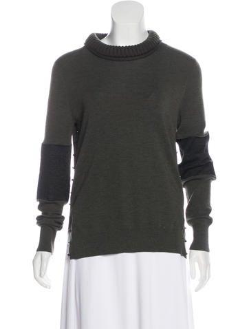 Belstaff Wool & Silk Knit Sweater None