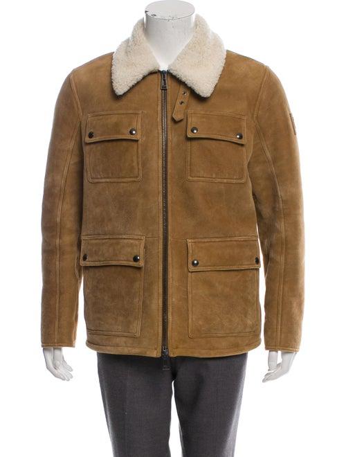 Belstaff Shearling Utility Jacket