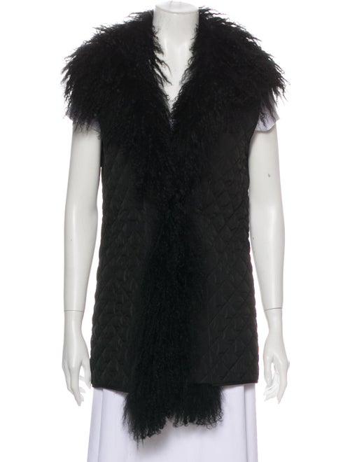 Belstaff Lightweight Quilted Vest Black