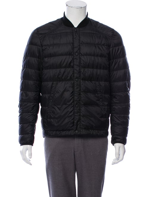 Belstaff Quilted Puffer Jacket black