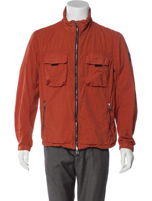 Belstaff Woven Field Jacket orange