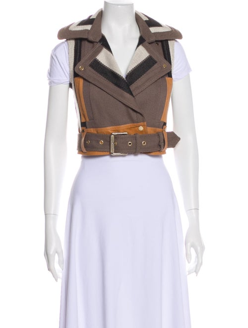 Belstaff Colorblock Pattern Vest