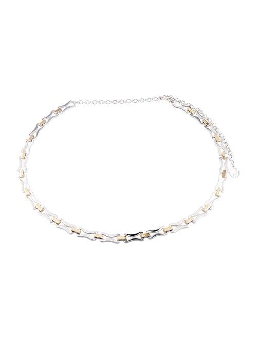Belt Metal Chain-Link Belt Silver