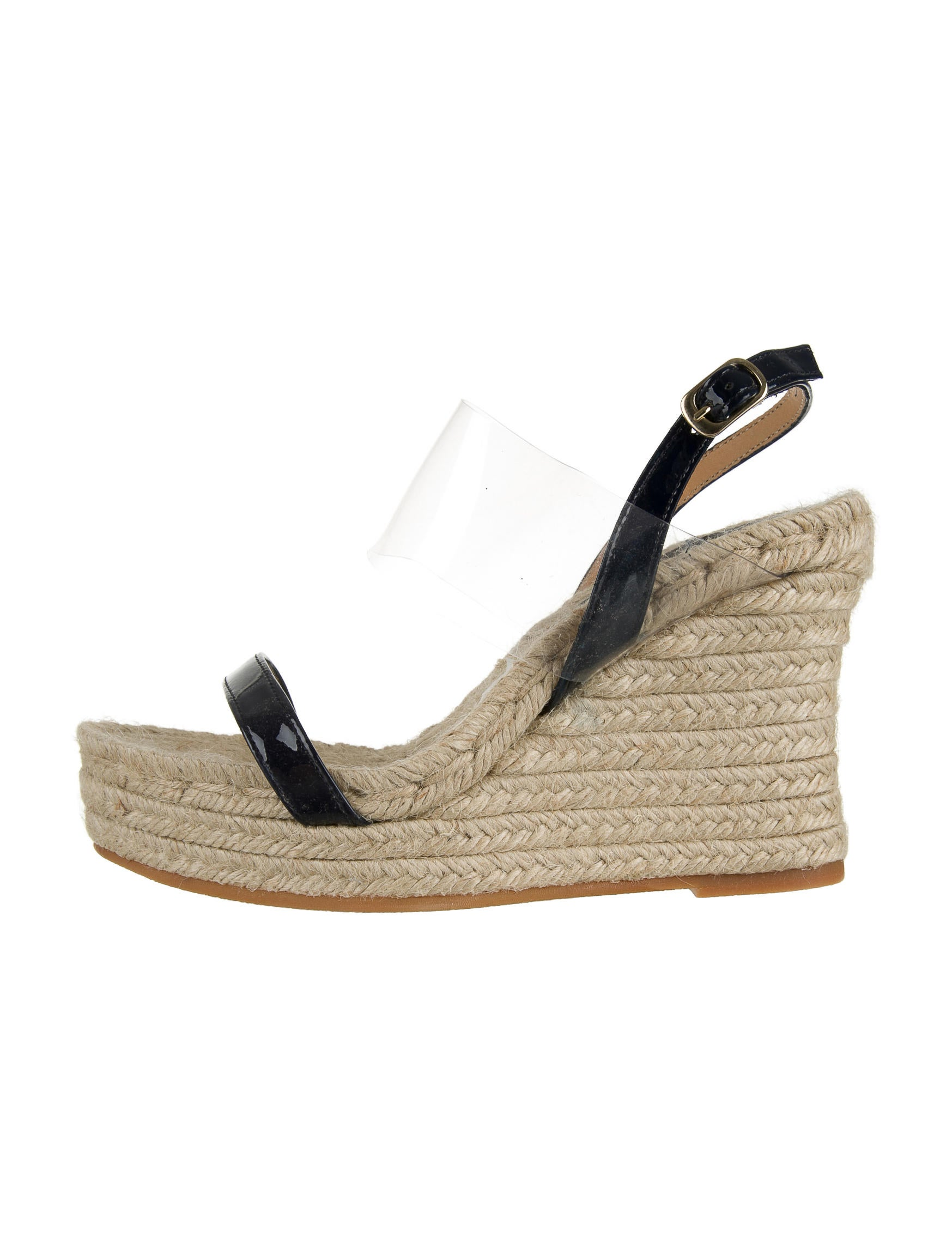 Bettye Muller Leather Wedge Sandals w/ Tags free shipping cheap online ZM2UkuPjLQ