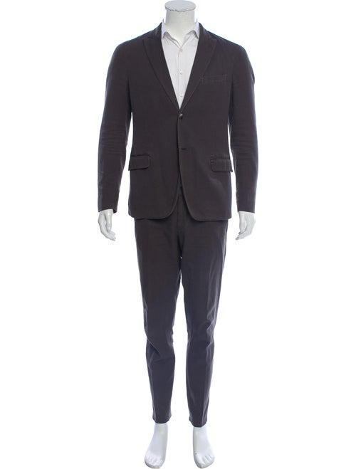 Boglioli Deconstructed Two-Piece Suit olive