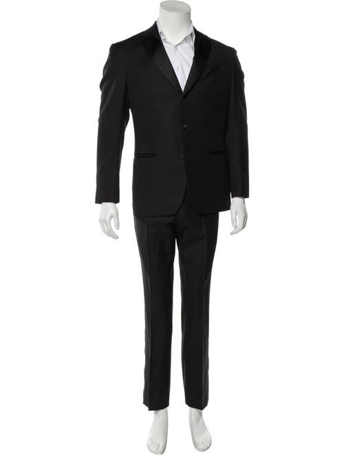 Boglioli Wool Two-Piece Suit black