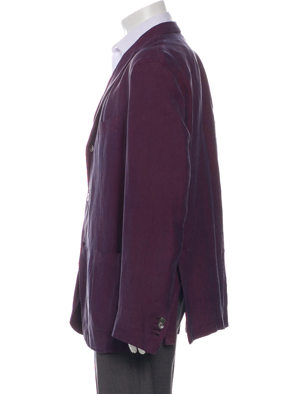Boglioli Sport Coat Purple - image 2