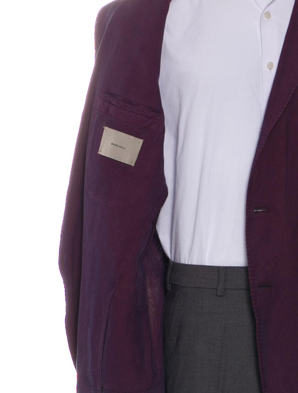 Boglioli Sport Coat Purple - image 4