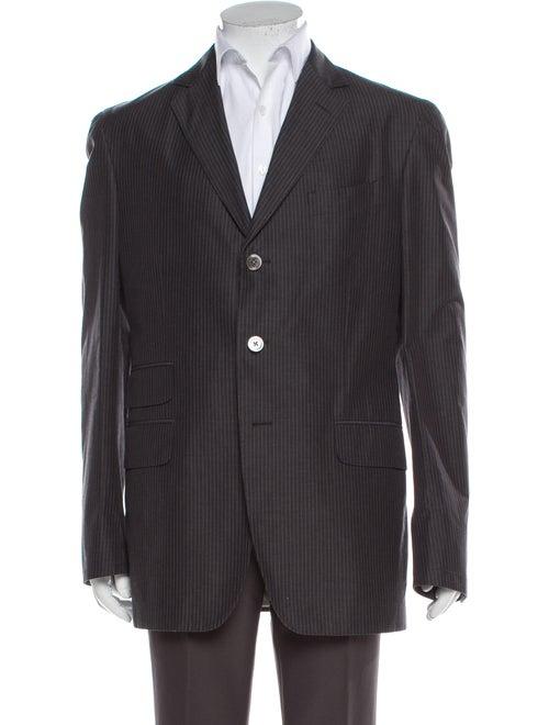 Boglioli Striped Two-Piece Suit Grey