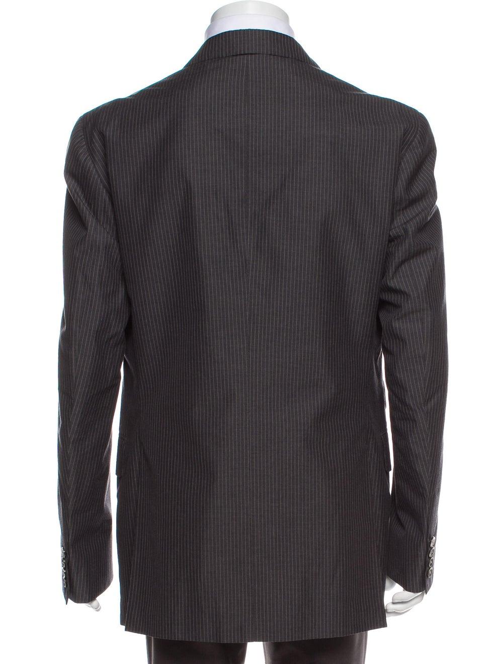 Boglioli Striped Two-Piece Suit Grey - image 3