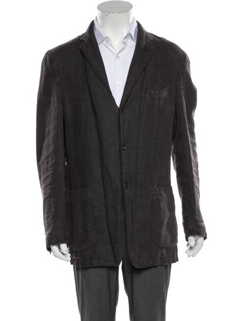 Boglioli Linen Jacket Grey