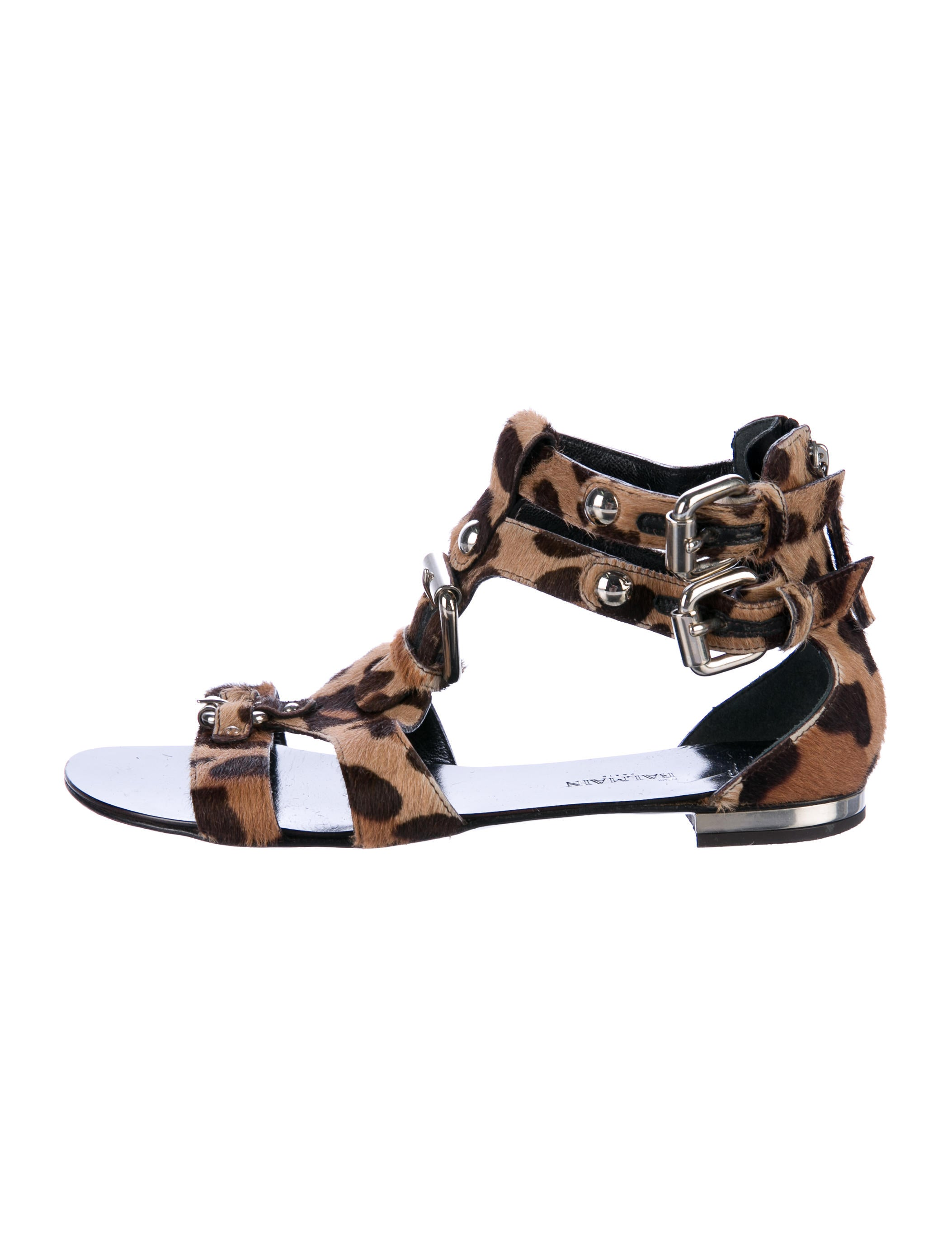 sast sale online Giuseppe Zanotti Ponyhair Cage Sandals wholesale price for sale collections for sale cheap pay with paypal outlet wide range of myEum5DIlo