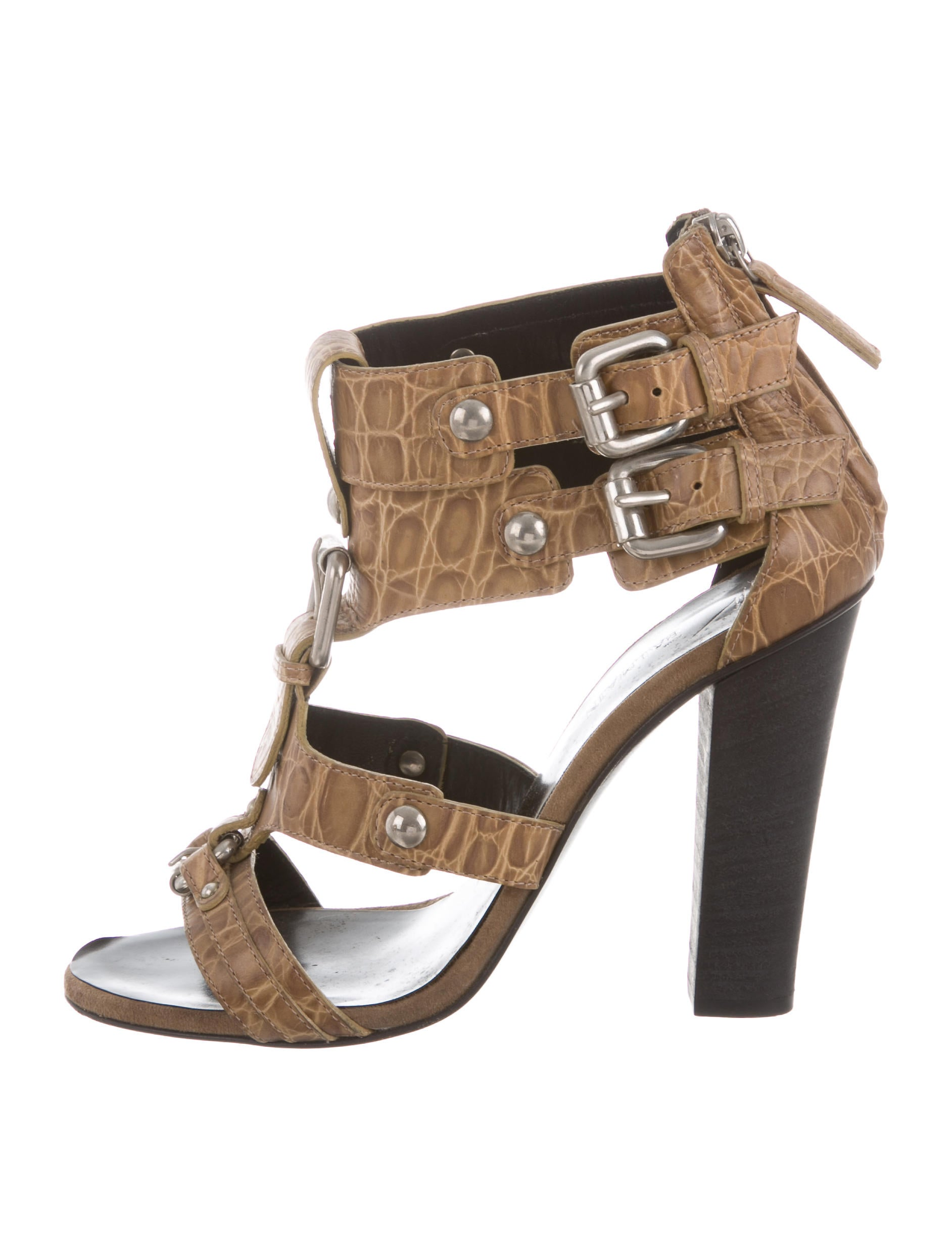 footlocker pictures sale online Giuseppe Zanotti x Balmain Buckle-Embellished Cage Sandals pay with visa really outlet 2015 tJLcyBL